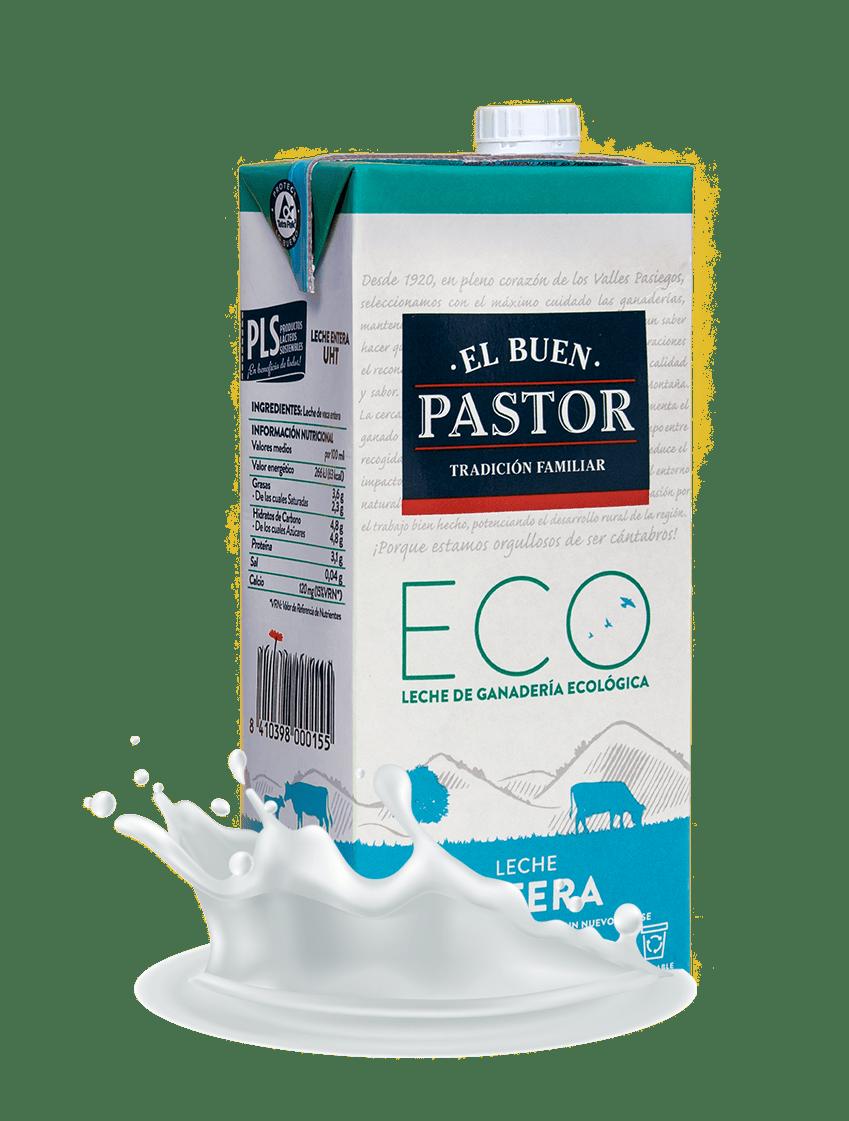 Leche entera ECO El Buen Pastor